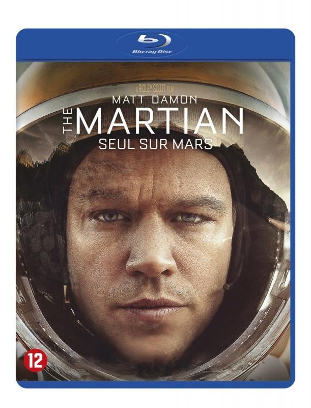 The Martian, blue-ray