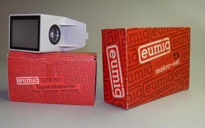 Eumig daglicht monitor voor de 600/605/607/610 serie's super 8 filmprojectoren