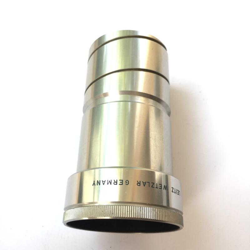 Nr. LE-115 -- projectie lens Leitz Wetzlar germany colorplan 1;2,5/ 120MM DIAMETER 46,5MM