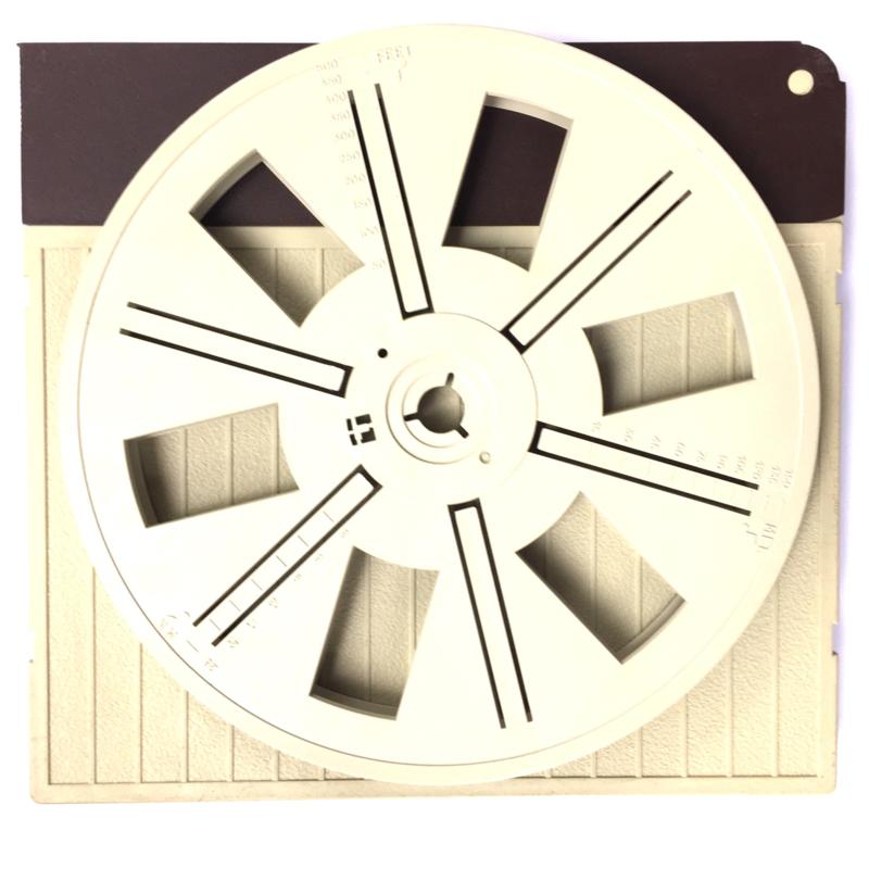 *Super 8  --  Posso spoelen voor 180 METER film (diameter 20,6cm)  in orginele doos, speciale prijs zolang de voorraad strekt