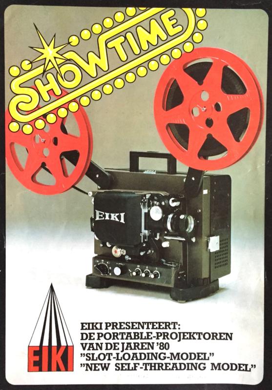 Kijk in de rubriek Eiki 16mm projectoren