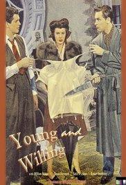 Nr.16300 -- 16mm -- Young and Willing 1943, orginele zwartwit film met Engels geluid compleet met begin/end titels speelduur 83 minuten mooie kwaliteit