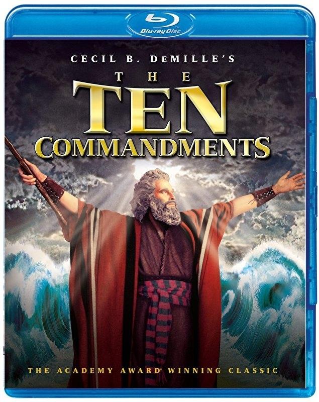 Blu-ray The Ten Commandments 1956