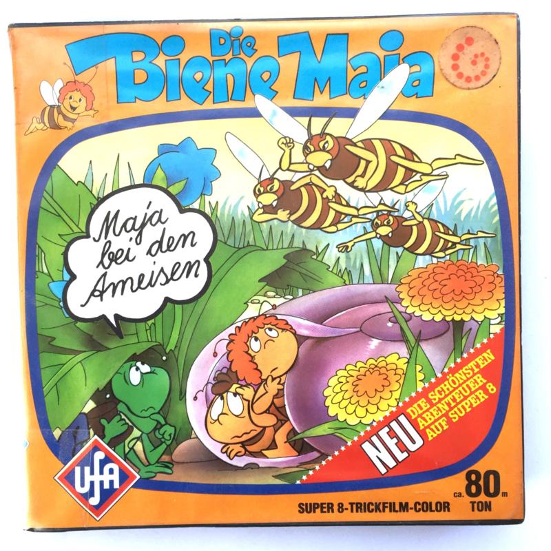Nr.7266 --Super 8 sound -- Maja bei dem Ameisen, ca 100 meterkleur met Engels geluid, goede  copy in orginele doos