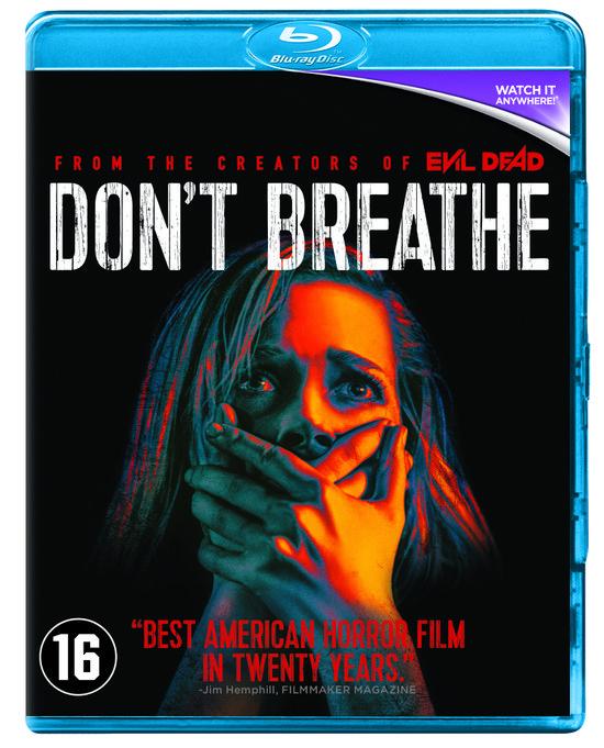 Don't Breathe best American Horror film in twenty Years. (Blu-ray disk)