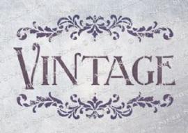 13 ; Vintage scroll A3