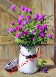 SS 0221 Melkbusje met bloemen