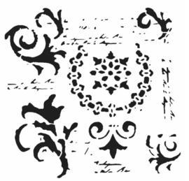 168 vintage scrols