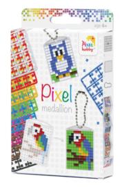 Pixelmedaillon set