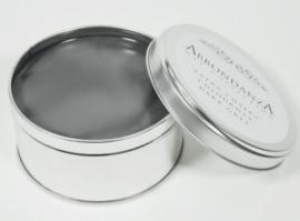 Dark grey abbondanza wax