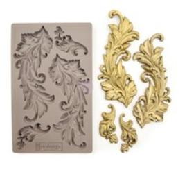 re-design silicone mould baroque krul