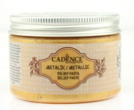 reliefpasta cadence metallic goud