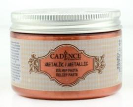 reliëfpasta cadence metallic koper