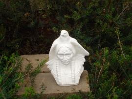 RV 695B Indiaan buste met adelaar