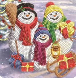 Sneeuwman family