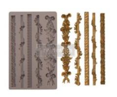 re-design silicone mould sicilian borders