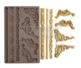 re-design silicone mould italian accent