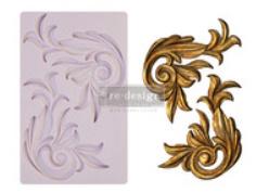 re*design silicone mould antique scrolls