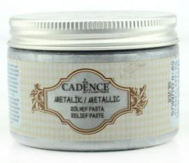 reliëfpasta cadence Metallic zilver