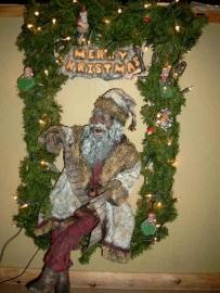 Victoriaanse kerstman