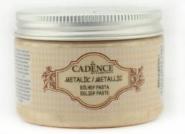 reliëfpasta cadence Metallic  champagne