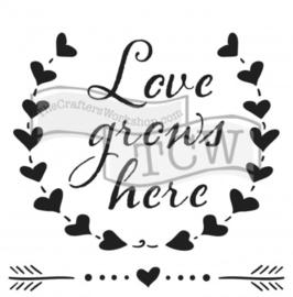 75 :Love grows
