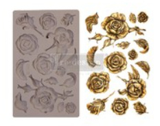 re-design silicone mould roses