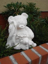G 3500 Knuddy beer met doek en tutter