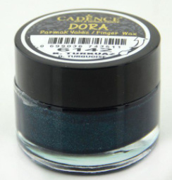 waterbased cadence dora  finger wax turquois