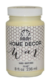 Folkart • Home Decor Wax White 236ml