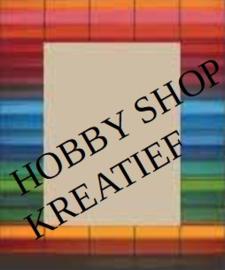 pixelhobby gekleurd streepjes recht