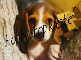 PE 0092 Puppy tegen boom