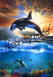 PE 1196 Springende orca