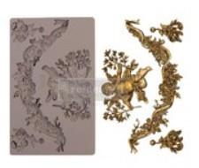 re-design silicone mould devine floral