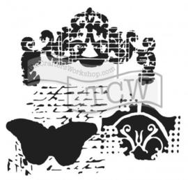 144 : regal butterfly