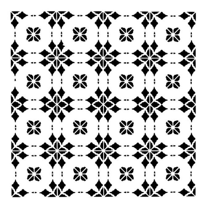 217 circle tegels