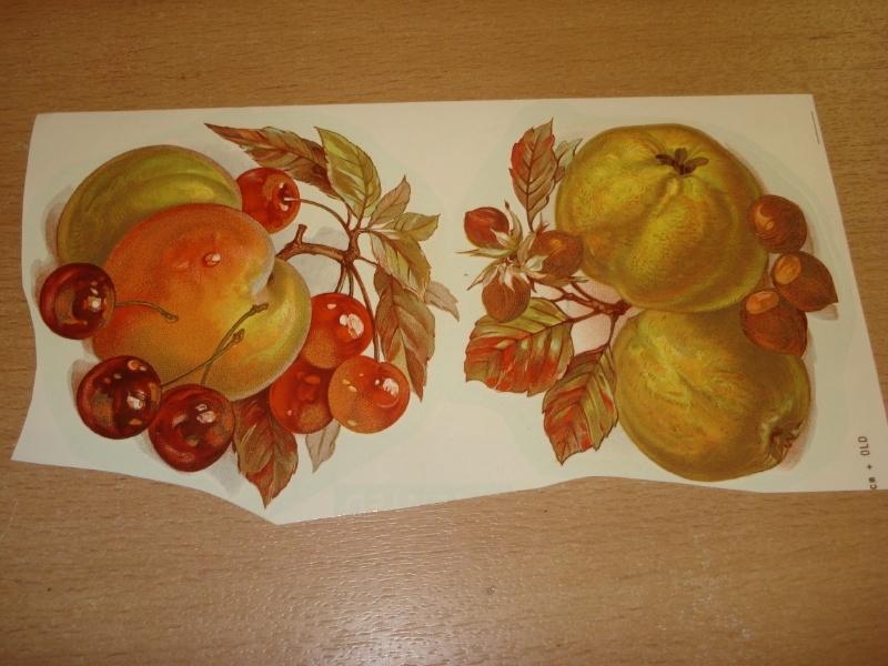 Transfer: Fruit perzik krieken - appel noten