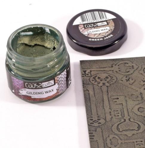 Gilding wax green jade