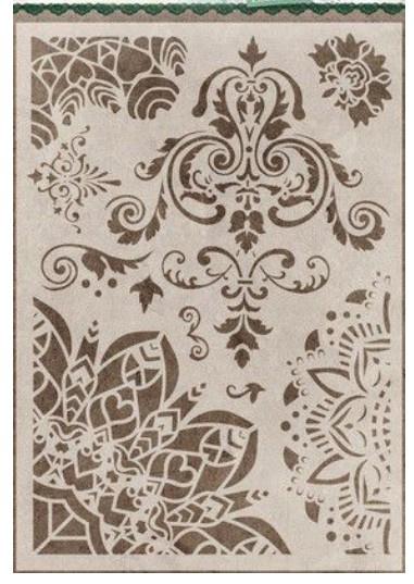 223 stencil essentials ornaments