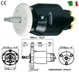 ULTRAFLEX STUURPOMP UP28R - UP33R - UP39R