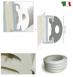 PVC FENDER PROFIEL (GROOVE 55mm)