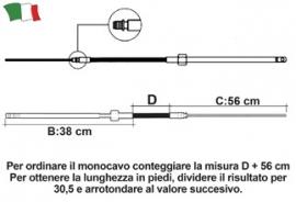 ULTRAFLEX M58 STUURKABEL