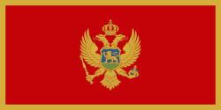 Vlag van Montenegro