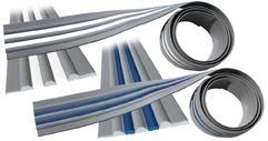 PVC RUBBER PROFIEL MET GEKLEURDE INVOEGSEL