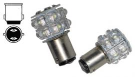 10 LED BA 15d LAMP