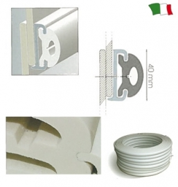 PVC fender profielen
