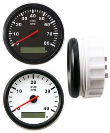 TACHOMETER VOOR DIESELMOTOREN 0-4000 RPM