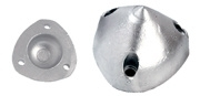 Anodes for bow propellers