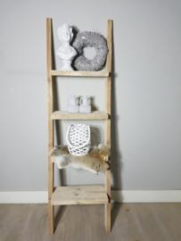 decoratie ladder 170x50x19 gebruikt steigerhout
