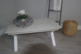 kruispoot salontafel